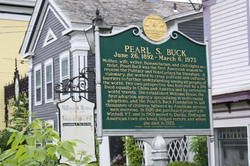 Peal S. Buck left her mark in quaint Danby, VT