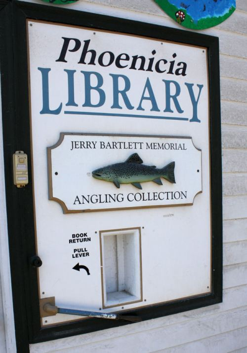 Trout fishing is all the rage in Phoenicia, NY